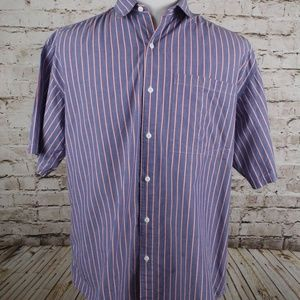 The North Face Short Sleeve Button Front Shirt XL